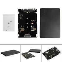 B+M Key Socket 2 M.2 NGFF (SATA) SSD to 2.5 SATA Adapter Card with Case New