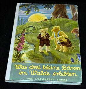 Was drei kleine Bärchen im Walde erlebten Buch Margarete Thiele