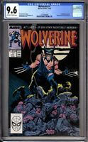 Wolverine 1 CGC Graded 9.6 NM+ Marvel Comics 1988