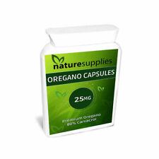 Wild Origan Huile Capsules 25 mg, riche en carvacrol Rapid Release-naturesupplie...