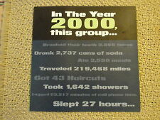 RASCAL FLATTS-COUNTRY MUSIC COLLECTABLES-2000 Flyer for ACM Nomination-MINT