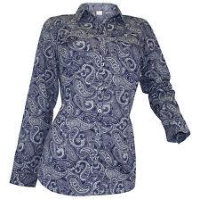 Damen-Blusen aus Baumwolle mit Paisley Damenblusen, - tops & -shirts