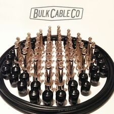 GEORGE L's PEDAL BOARD KIT - 20 PATCH CABLES - 20' OF CABLE - 40 PLUGS - 40 CAPS