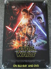 """Star Wars Episode VII The Force Awakens 27"""" x 40"""" One Sided Movie Poster REDUCED"""