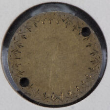 1849 10c SEATED LIBERTY DIME LOVE TOKEN LOT#Q715