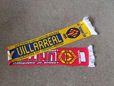 MANCHESTER United v VILLARREAL  Champions League  FOOTBALL Scarf