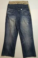 Lot of 3 Jeans Levi's Rocawear Mens Size 38 X 29