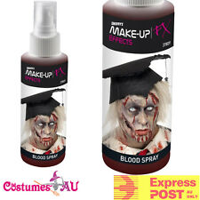 Spray Fake Blood Pump Action Atomiser Halloween Red Creepy Costume Accessorries