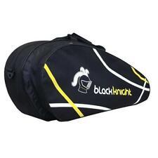 Black Knight Tournament 6 Racquet Bag (Black/White)Authorized Dealer w/ Warranty