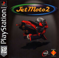 Jet Moto 2 PlayStation 1 PS1 Complete *CLEAN VG