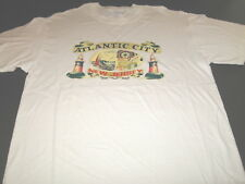 Atlantic City New Jersey - Lighthouses Sailboat Gambling Vacation T-Shirt New LG
