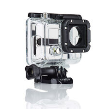 Protective Case Skeleton Side Open Housing With Lens For GoproHero3 High Quality