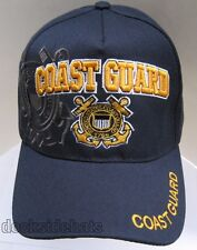U.S.COAST GUARD VETERAN Cap/Hat Blue w/ Shadow New Military Free Shipping