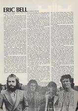 Thin Lizzy Eric Bell Intl. Musician Clipping