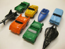 8 x MICRO MACHINES 5 x CAR BOAT & 2 AEROPLANE RARE COLLECTABLE 25+ YEARS OLD NEW