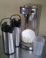 Gastro-Kaffeemaschine inkl. 2. Pumpkanne + 1000 Korbfilter + Meßbecher