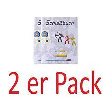 Schie�Ÿbuch für alle Sportschützen & Jäger: 1-10er Pack - broschiert und in Farbe