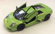 "Kinsmart 5"" Lamborghini MURCIELAGO LP640 GREEN Car Diecast Model 1:36"