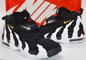 VNDS Nike Air DT Max '96 Deion Sanders Black/Varsity Maize/White Rare Retro 14