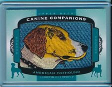 2017 Upper Deck Goodwin Canine Companions #77 American Foxhound