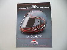 advertising Pubblicità 1982 CASCO HELMETS JEB'S