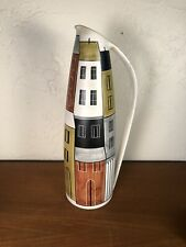 Swiss Atelier Müller Luzern Pottery Ceramic Cityscape 1950s