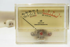 1x Nakamichi 600 II Analog VU Peak Level Meter H8A - Vintage Cassette Audio Part