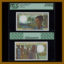 Comoros 1000 Francs, ND 1994 P-11b PGCS 67 PPQ
