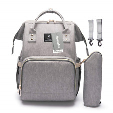 Baby Changing Bag, HowiseAcc Nappy Diaper Backpack with USB Charging Port, Come
