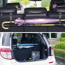 2X Car Seat Headrest Strap Holder Umbrella Organisers Bags Trunk Boot Hook Clips