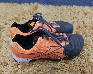 Euc Womens Reebok Crossfit Nano 3.0 CF7+  Training Shoes Size 6 EU 39 khaki
