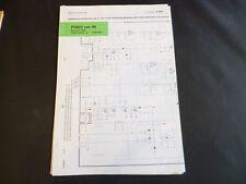 Original Service Manual Correction Bang Olufsen PCB22 ver. M Beolab 2500