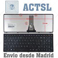 Teclado Español para LENOVO IdeaPad G500s Negro