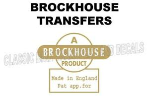 Brockhouse Tank Top Transfer Classic Motorcycle D20000 Indian Brave Corgi