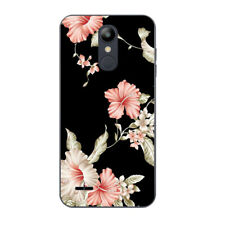 Soft TPU Case Cover for LG G4 G6 K10 K8 2018 Ultra Thin Flower Silicone Skins