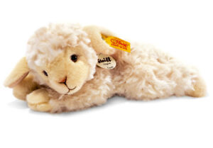 Steiff 'Linda' Lamb / sheep classic plush washable soft toy - 22cm - 280030