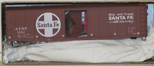 Accurail HO Scale 5035 Santa Fe 50' AAR Steel Box Car Kit # 9582