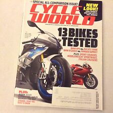 Cycle World Magazine BMW Hp4 Ducati 1199R Yamaha Super T July 2013 061617nonrh