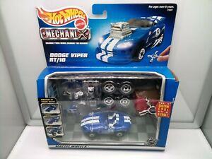 Hot Wheels Mechanix 1:43 Scale?? / Dodge Viper RT 10 - Blue - Racing - Model Car