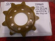 NEW REPRODUCTION YAMAHA 1975 GPX 76 GP GS PR DRIVE SPROCKET VINTAGE SNOWMOBILE
