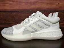 ADIDAS SM MARQUEE BOOST BASKETBALL SPORTS SNEAKERS MEN SHOES WHITE SIZE 12 NEW