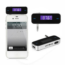 New 3.5mm Wireless Music to Car Radio FM Transmitter For iPod iPhone MP3 Tablets