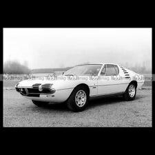 #pha.016695 Photo ALFA ROMEO MONTREAL EXPO PROTOTIPE (105) 1967 Car Auto
