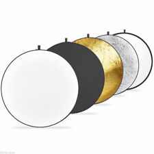 "43"" 110cm 5-in-1 Collapsible Multi-Disc Light Reflector includes bag NEW"