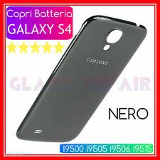 NERO CopriBatteria Cover Posteriore SAMSUNG GALAXY S4 I9500 I9505 I9506 I9515 VE