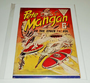 PETE MANGAN OF SPACE PATROL no.51 (no.2) L Miller 1953 Mick Anglo Marvelman RARE