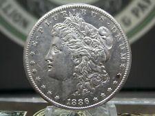 """1886 """"S"""" Morgan Silver Dollar $1 #4  East Coast Coin & Collectables, Inc."""