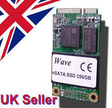 Superfast mSATA 256GB miniPCI SSD SATAIII 464MBs/318MBs R/W Samsung Chip