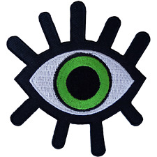 Evil Eye Patch Iron Sew On T Shirt Jacket Jeans Bag Embroidered Badge Embroidery