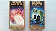 Star Wars and Return of the Jedi  - Special Editions  (2 x VHS/SUR, 1997)